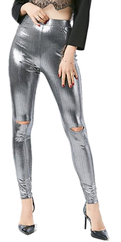 Missy Metallic Leggings