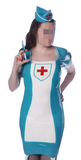 Stick-It-In Latex Nurse costume