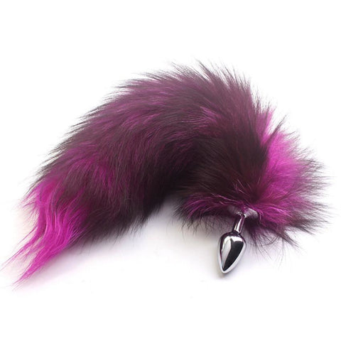 Rosy Red Fantasy Fox Tail Sex Toy