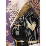 Uniformed Babe Tight Latex Dress
