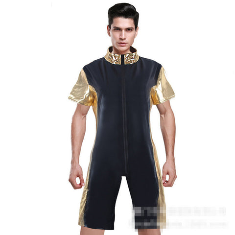 Dreamy Prince Wetlook Leotard Costume