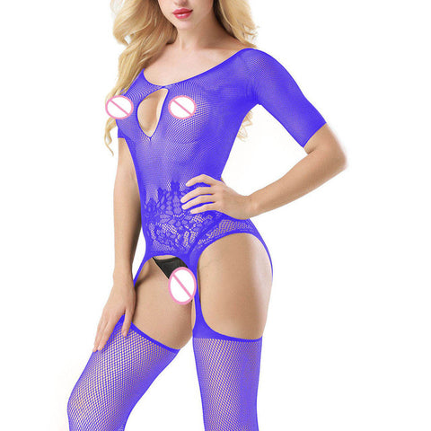 Variety of colors Hot Floral Latex bodysuits for women
