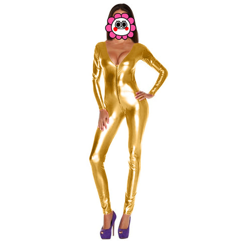 Variety of colors Jumpsuit Latex catsuits for women