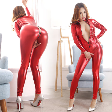 Sizzling Hot Open-Crotch Jumpsuit