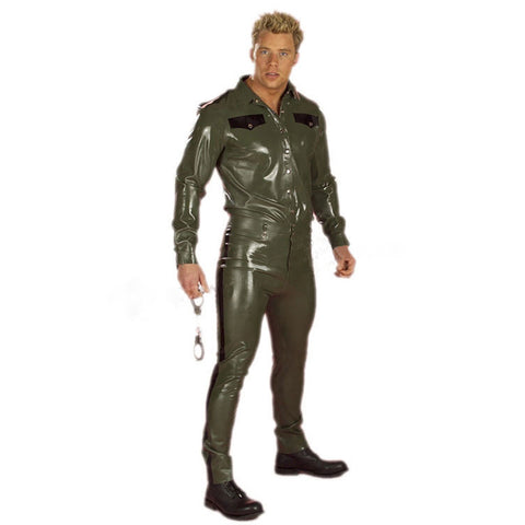 Hunky Military Catsuit Costume