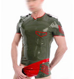 Sexy Gummi Military Bodysuit Costume