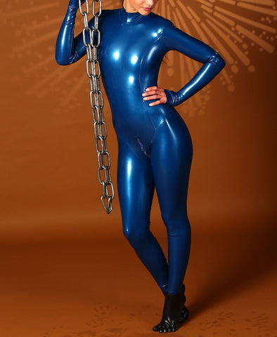 Skin Tight Latex Catsuits for Women