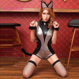 Sultry Feline Latex Costume