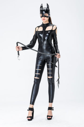 Feisty Catwoman Jumpsuit Costume