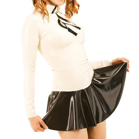 Schoolgirl Lolita Latex costume