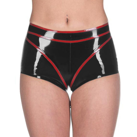 Boxers Underwear Latex Shorts