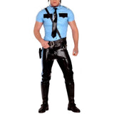 Sexy Mr. Policeman Latex Top