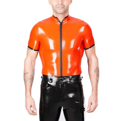 Hot Stuff Tight Latex Shirt