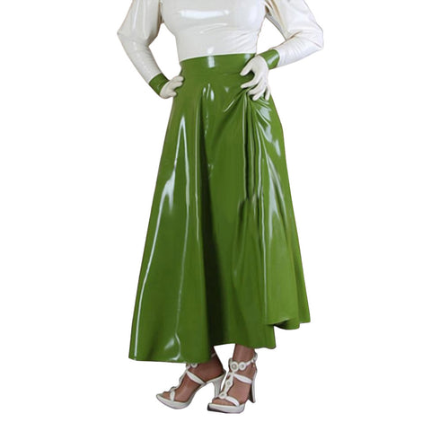 Polished Woman Latex Petticoat
