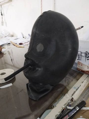 Inflatable Latex Rubber Mask