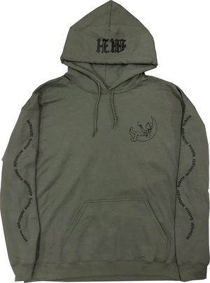Army Green Astronaut Hoodie