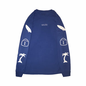 Blue Malibu Long Sleeve