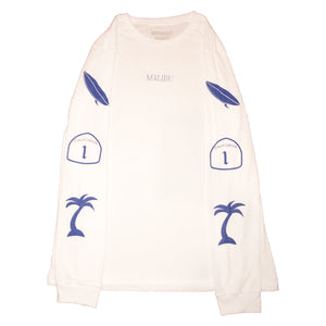 White Malibu Long Sleeve