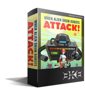 Alien Robot Drum Pack