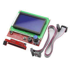12864 LCD Display Controller With Adapter For RAMPS 1.4