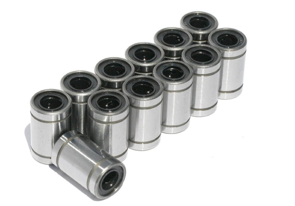 12 Pack LM8UU Linear Bearing