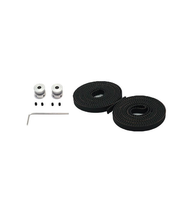 GT2 Kit: GT2 20-Tooth Timing Pulley + GT2 Timing Belt