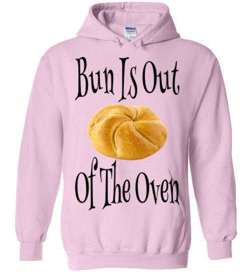 Bun Is Out Of The Oven Hoodie - marc's funny tees