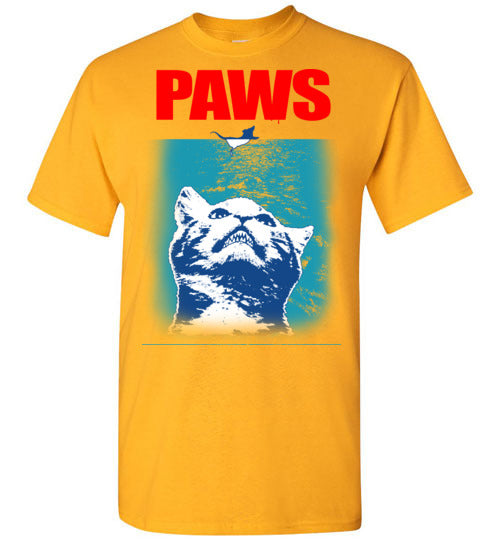 Paws tee - marc's funny tees