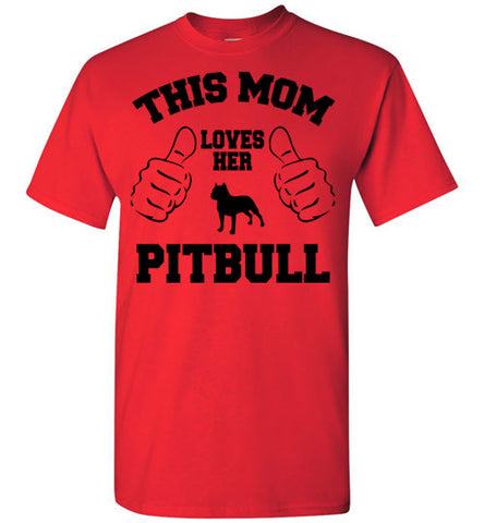 Pitbull Mom - marc's funny tees