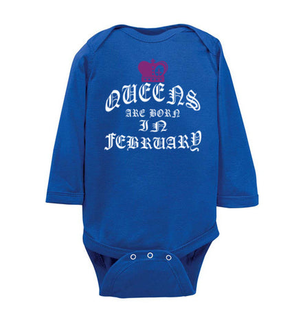 FEBRUARY QUEEN BABY - marc's funny tees