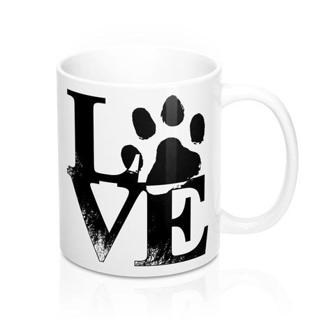Pet Love Mug - marc's funny tees