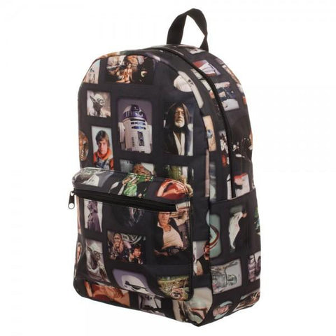 Star Wars Photo Album Sublimated Backpack - marc's funny tees