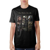 Image of Elder Scrolls Character Black T-Shirt - marc's funny tees
