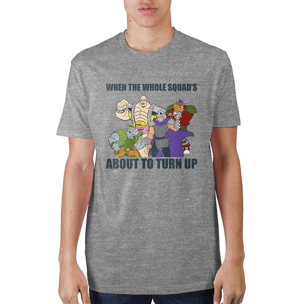 Teenage Mutant Ninja Turtles When The Whole Squad's T-Shirt - marc's funny tees
