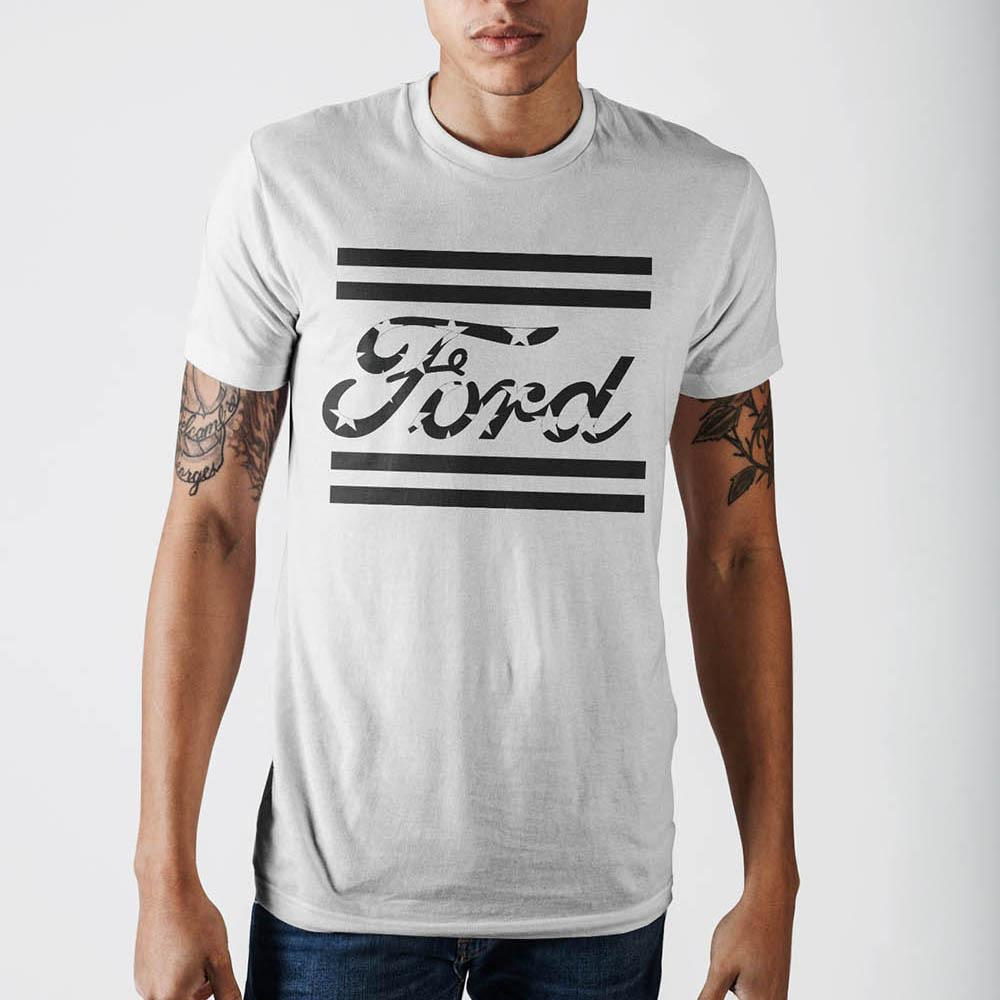 Ford Americana White T-Shirt - marc's funny tees