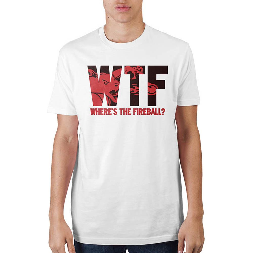 Fireball Where's The Fireball T-Shirt - marc's funny tees