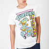 Image of Teenage Mutant Ninja Turtles To The Rescue White T-Shirt - marc's funny tees