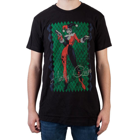 Heroes & Villains Harley T-Shirt - marc's funny tees