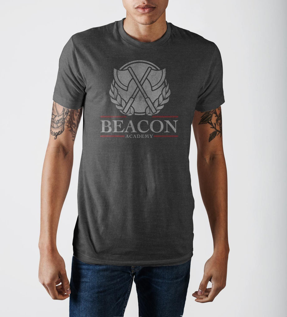 Beacon Grey Heather T-Shirt - marc's funny tees