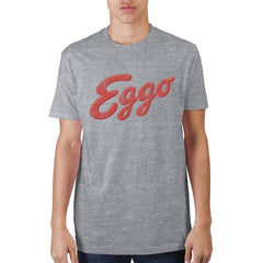 Kellogg's Eggo Logo Athletic Heather T-Shirt - marc's funny tees