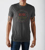 Image of AC/DC Grey Soft Hand T-Shirt - marc's funny tees