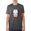 Image of Call Of Duty Franchise Skull Circle T-Shirt - marc's funny tees