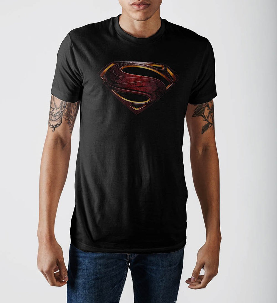 Justice League Superman Logo T-Shirt - marc's funny tees
