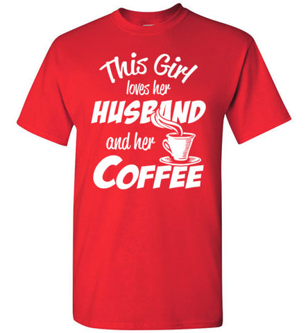 Husband Coffee Tee - marc's funny tees
