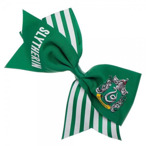 Harry Potter Slytherin Cheer Bow - marc's funny tees