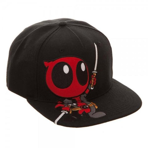 Marvel Little Deadpool Snapback - marc's funny tees