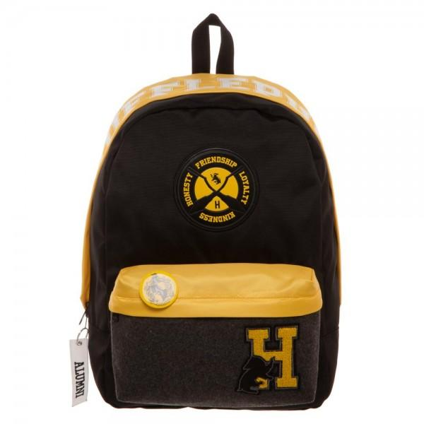 Harry Potter Hufflepuff Backpack - marc's funny tees
