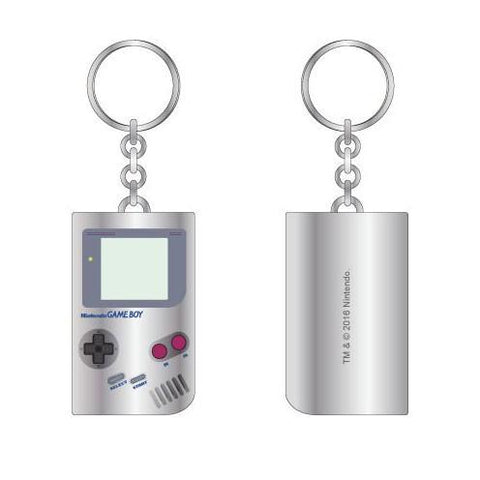 Nintendo Gameboy Keychain - marc's funny tees