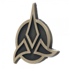 Star Trek Klingon Lapel Pin - marc's funny tees