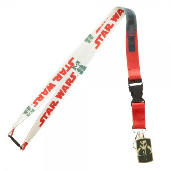 Star Wars Boba Fett Costume Lanyard - marc's funny tees